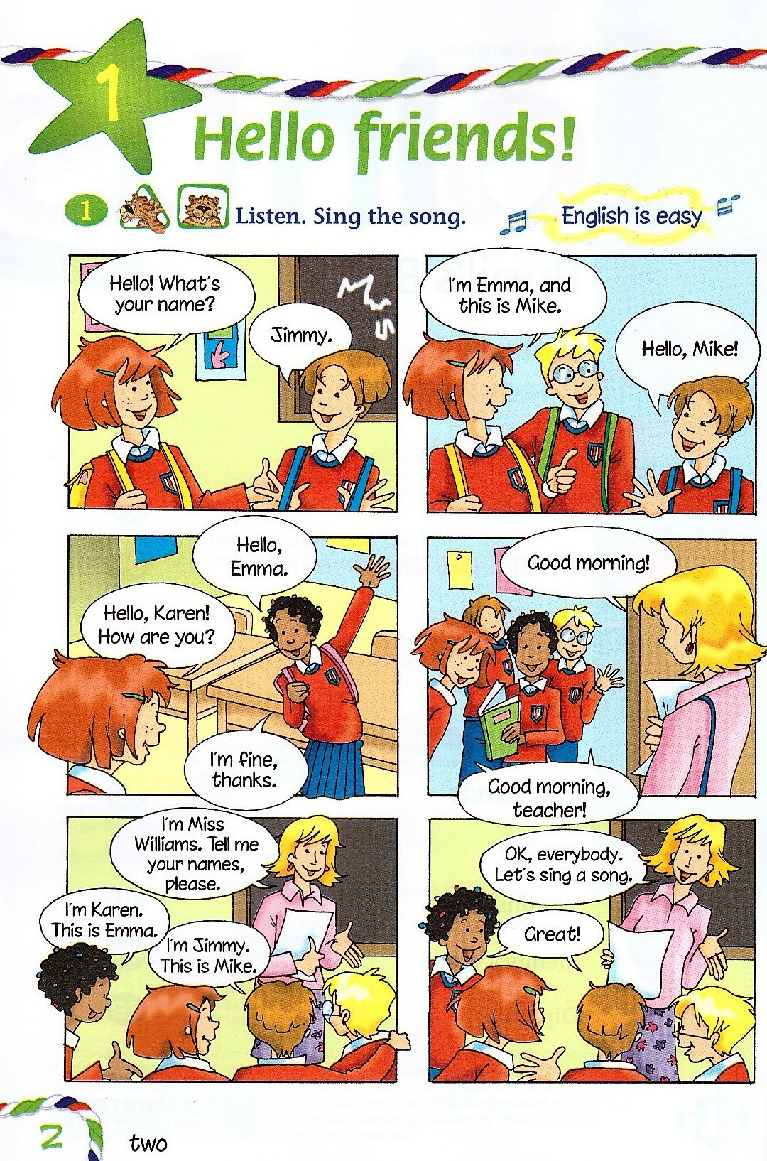 Изображение Join Us for English 2 Pupil's Book страница 2